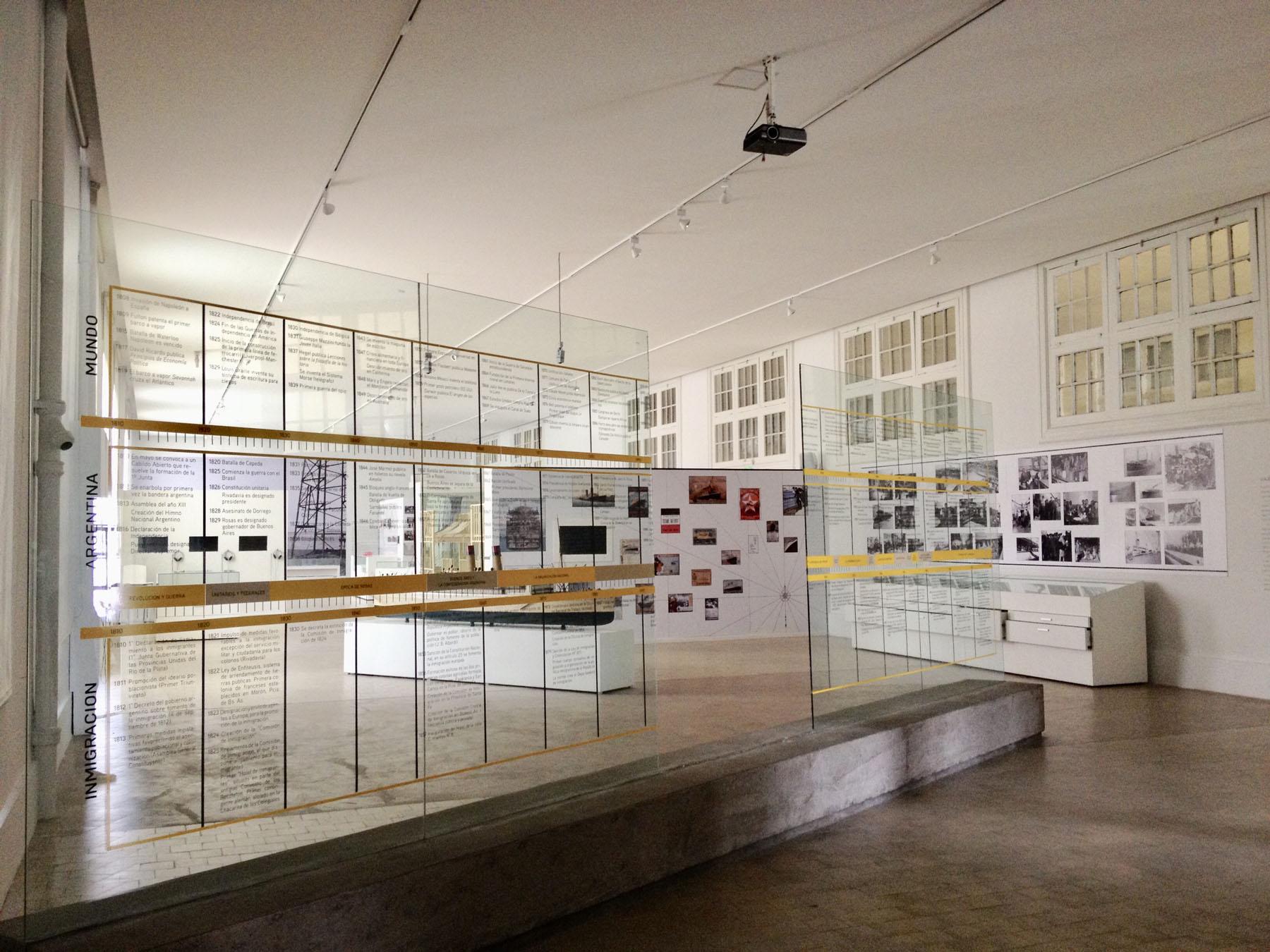 Inmigrantes – salas de exposiciones