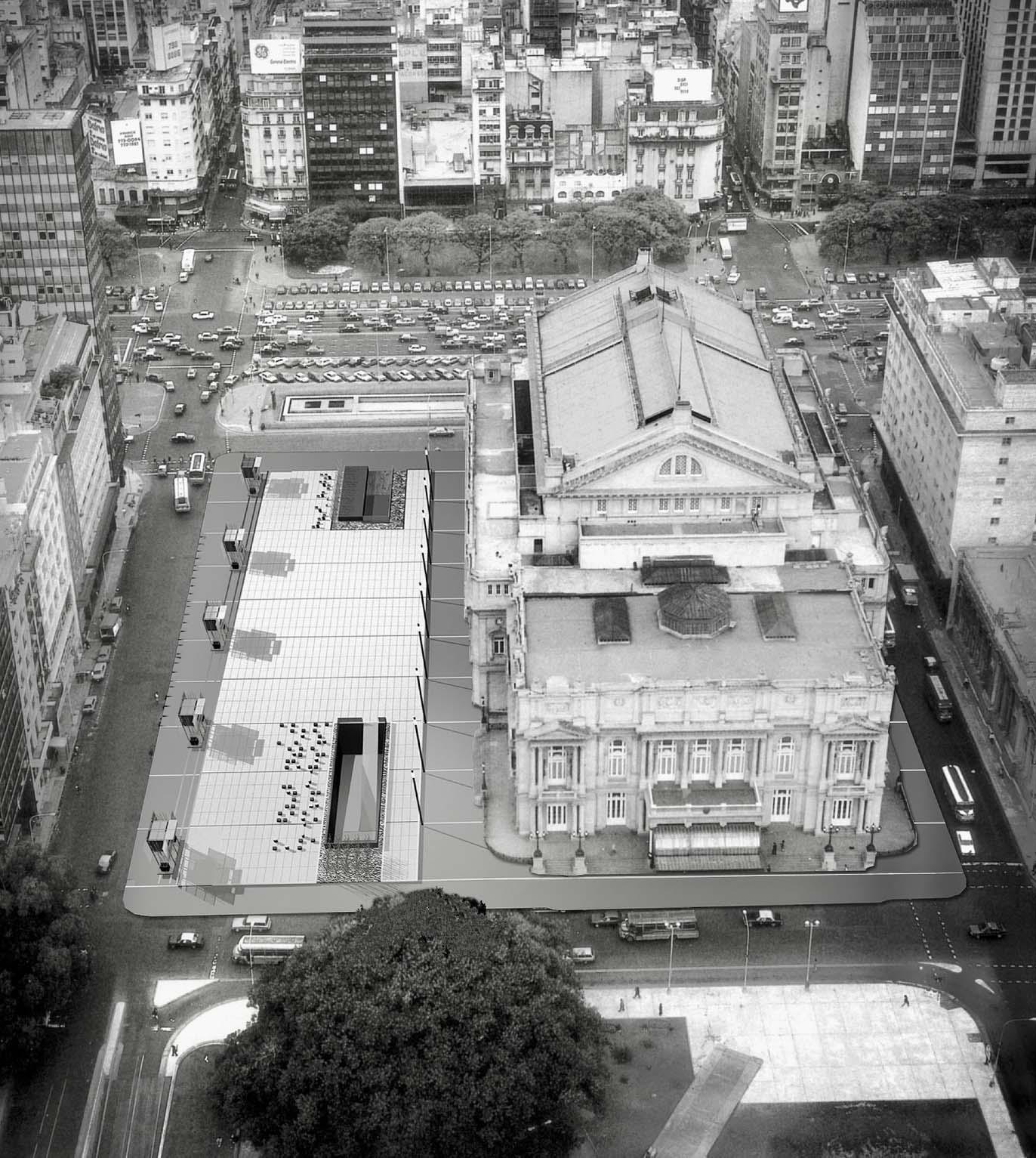 Plaza Vaticano / Teatro Colón