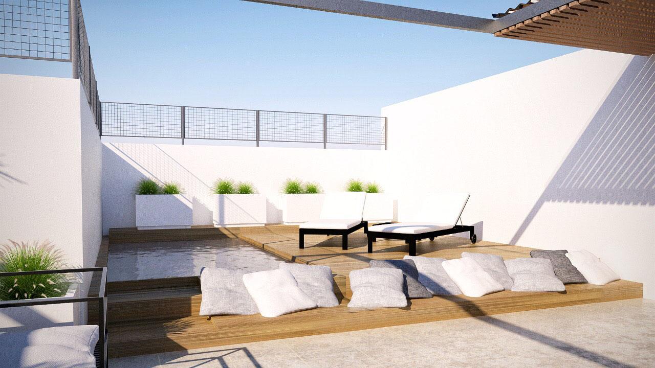 terraza en Recoleta